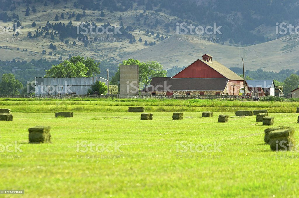 Boulder Barn royalty-free stock photo