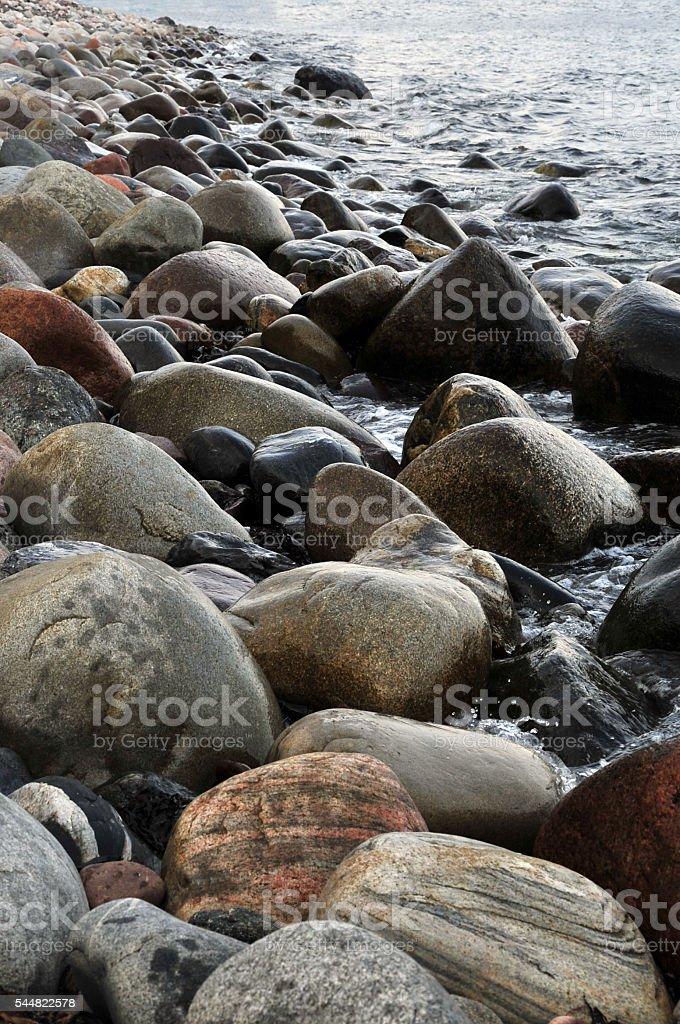 Boulder Beach stock photo