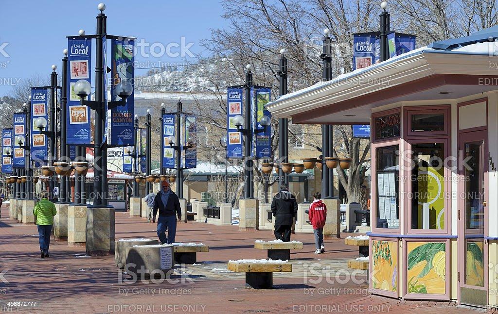 Boulder, Colorado royalty-free stock photo