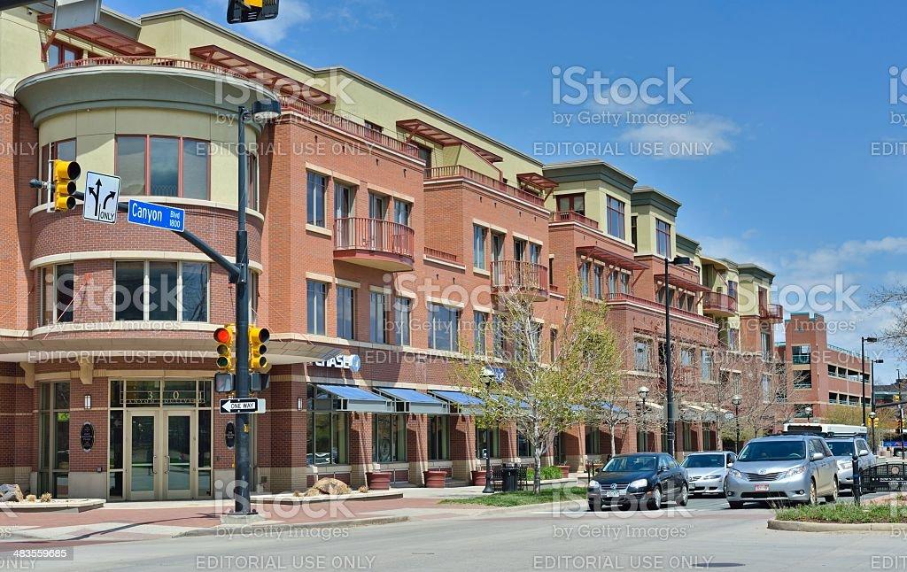 Boulder, Colorado stock photo
