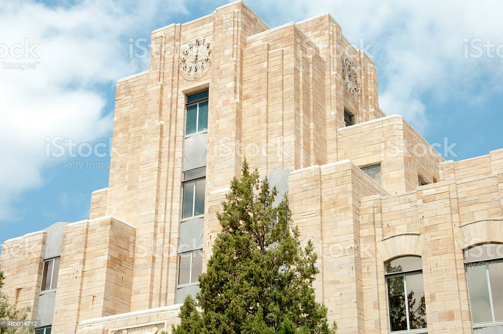 Boulder Courthouse stock photo