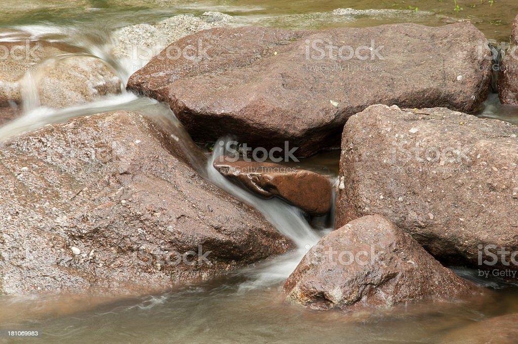 Boulder Creek royalty-free stock photo