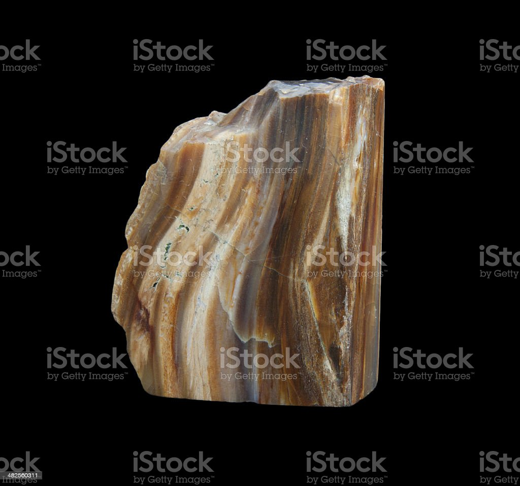 Boulder opal. tree stock photo
