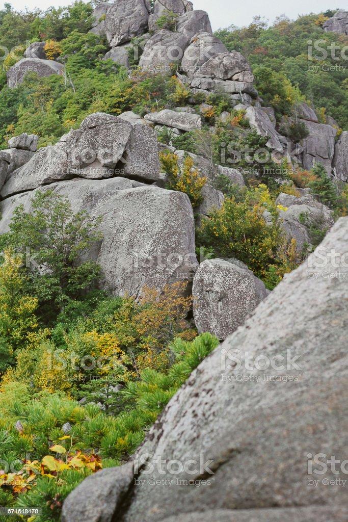 Boulder range stock photo