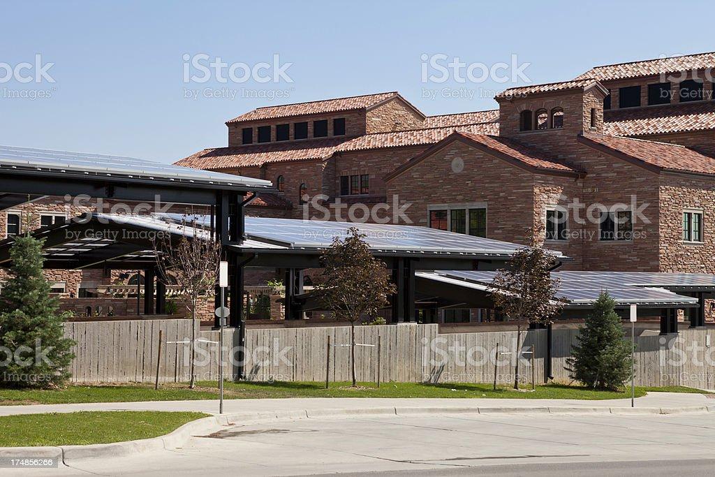 Boulder University, Colorado royalty-free stock photo