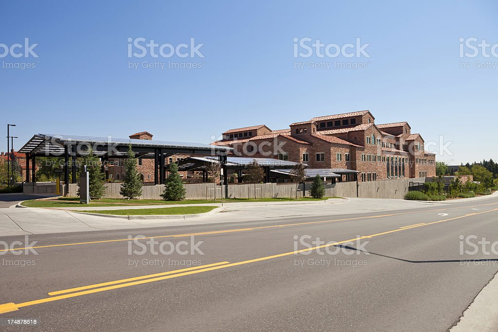 Boulder University royalty-free stock photo