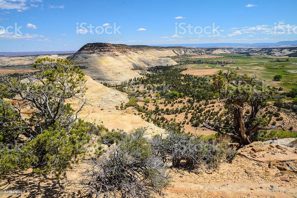 Boulder Utah stock photo