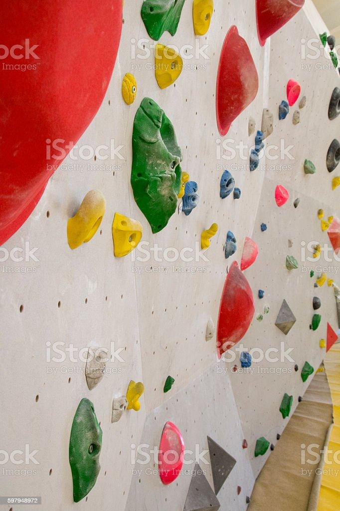 Bouldering stock photo