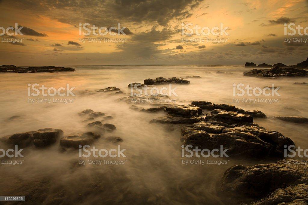 Boulders Beach Seascape royalty-free stock photo