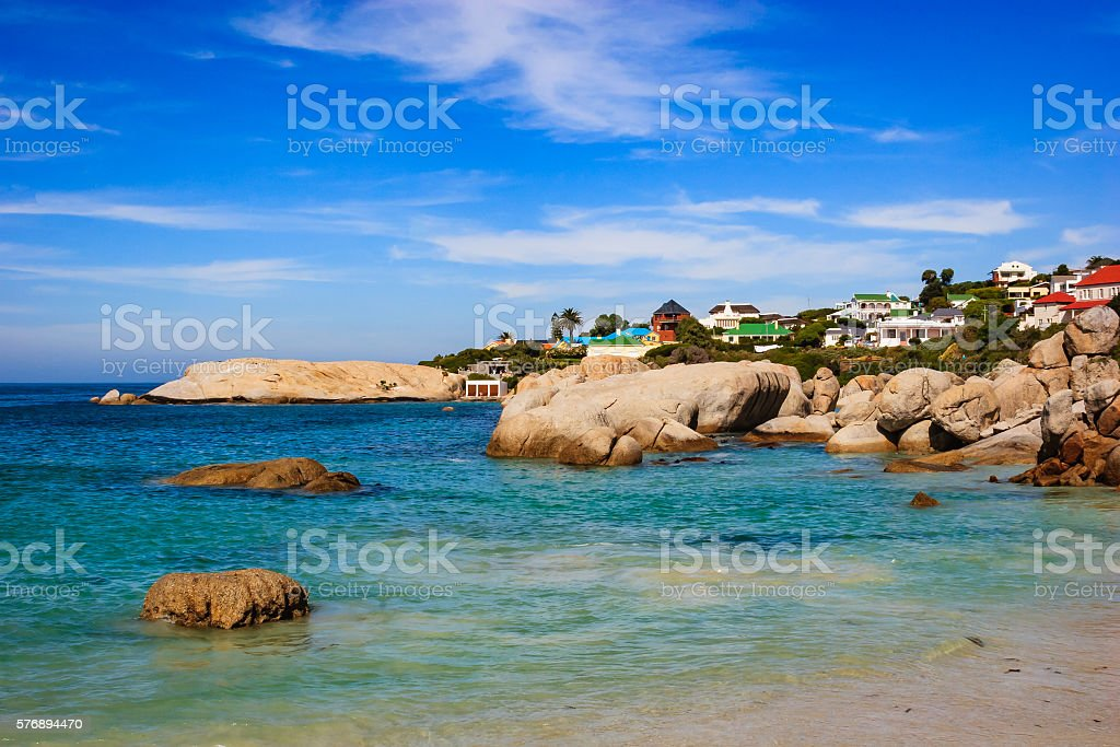 Boulders Beach, Western Cape Province, South Africa stock photo