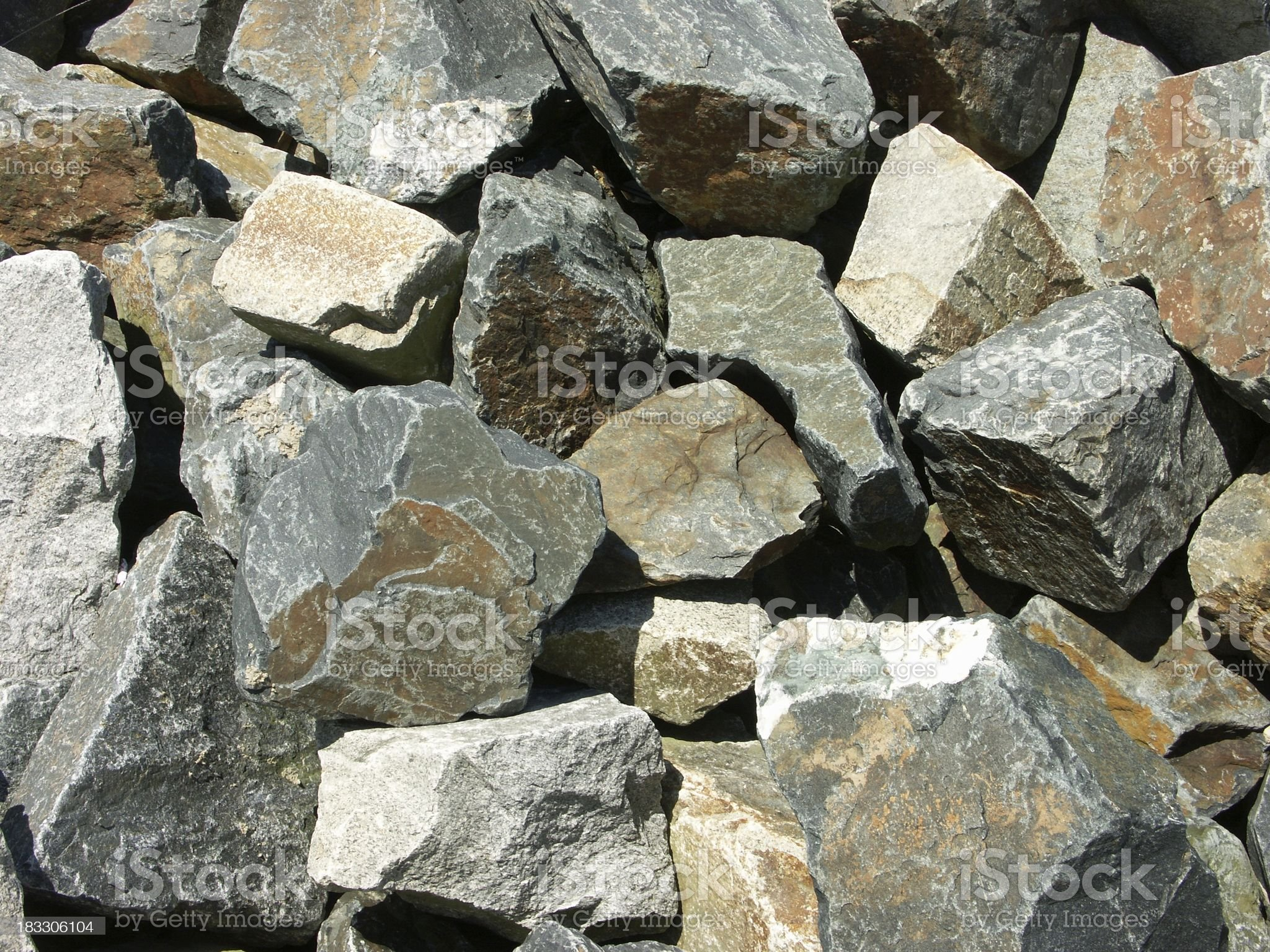 Boulders royalty-free stock photo