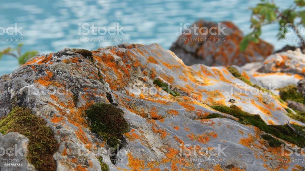Boulders stock photo