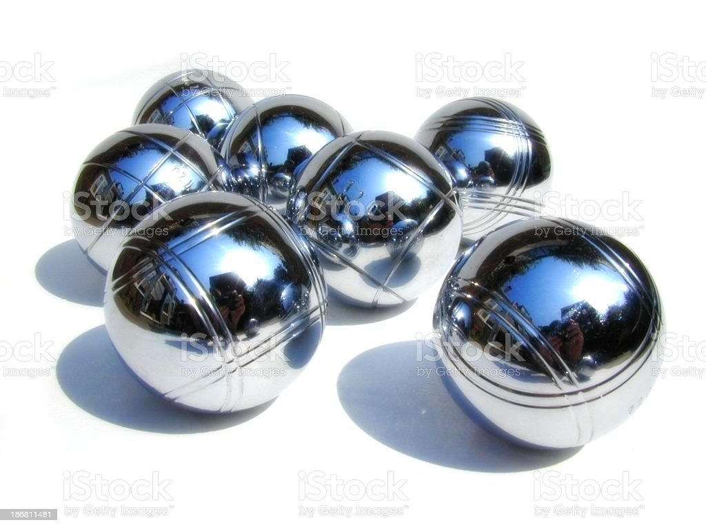 Boules royalty-free stock photo