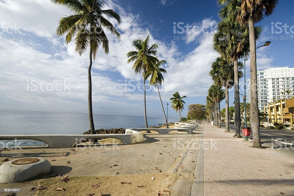 boulevard santo domingo royalty-free stock photo