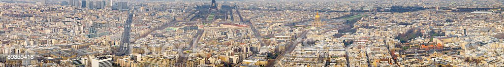 Boulevards of Paris royalty-free stock photo