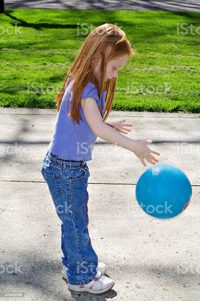 Bouncing Ball stock photo