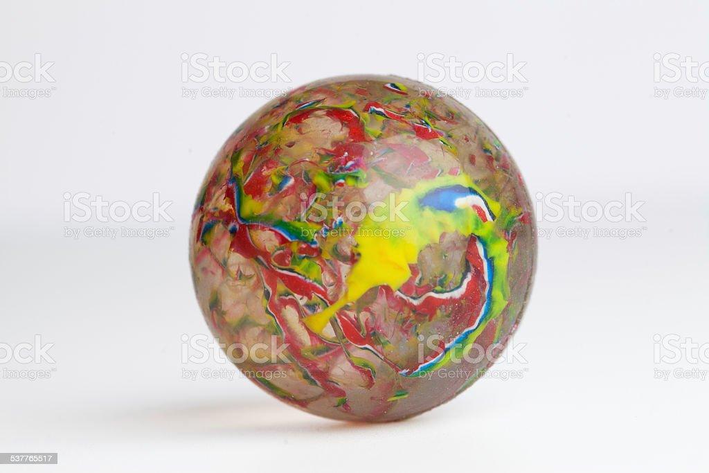 Bouncy ball stock photo