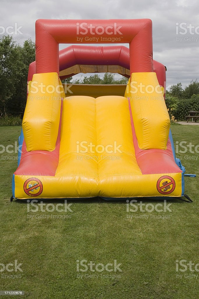 Bouncy Castle royalty-free stock photo