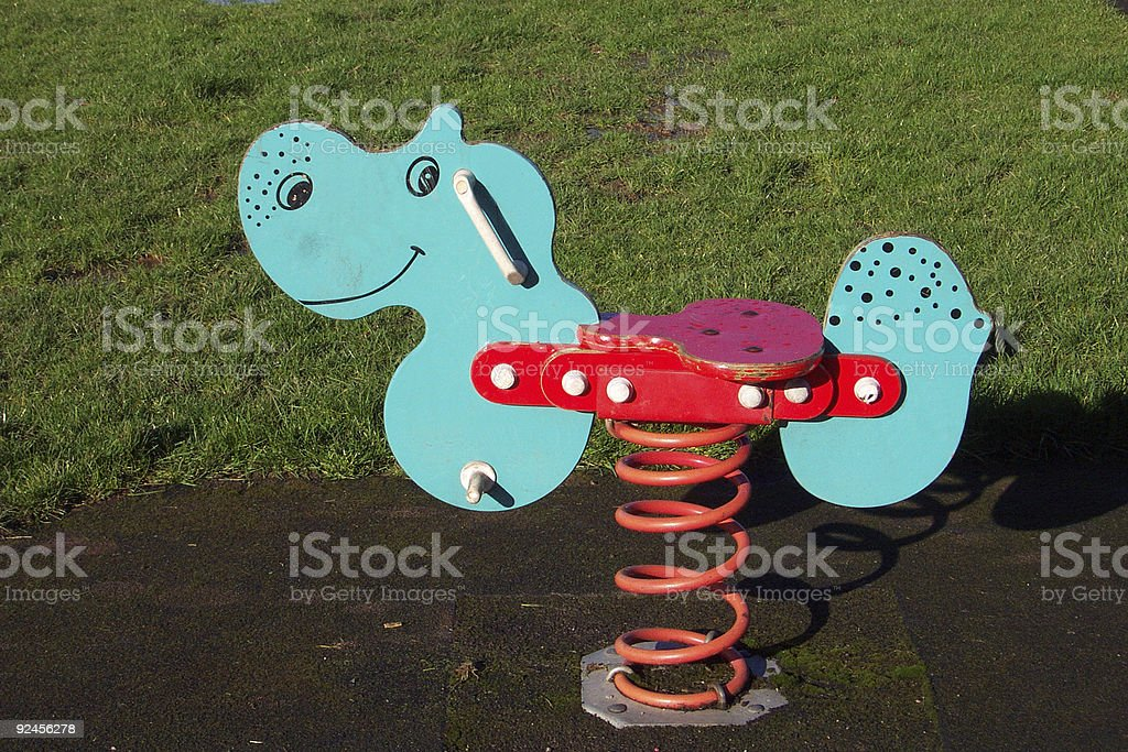 bouncy ride royalty-free stock photo
