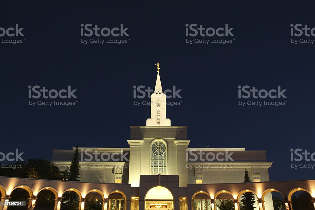 Bountiful Temple royalty-free stock photo