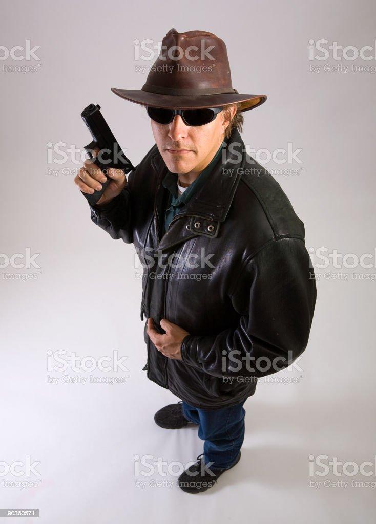 Bounty Hunter stock photo