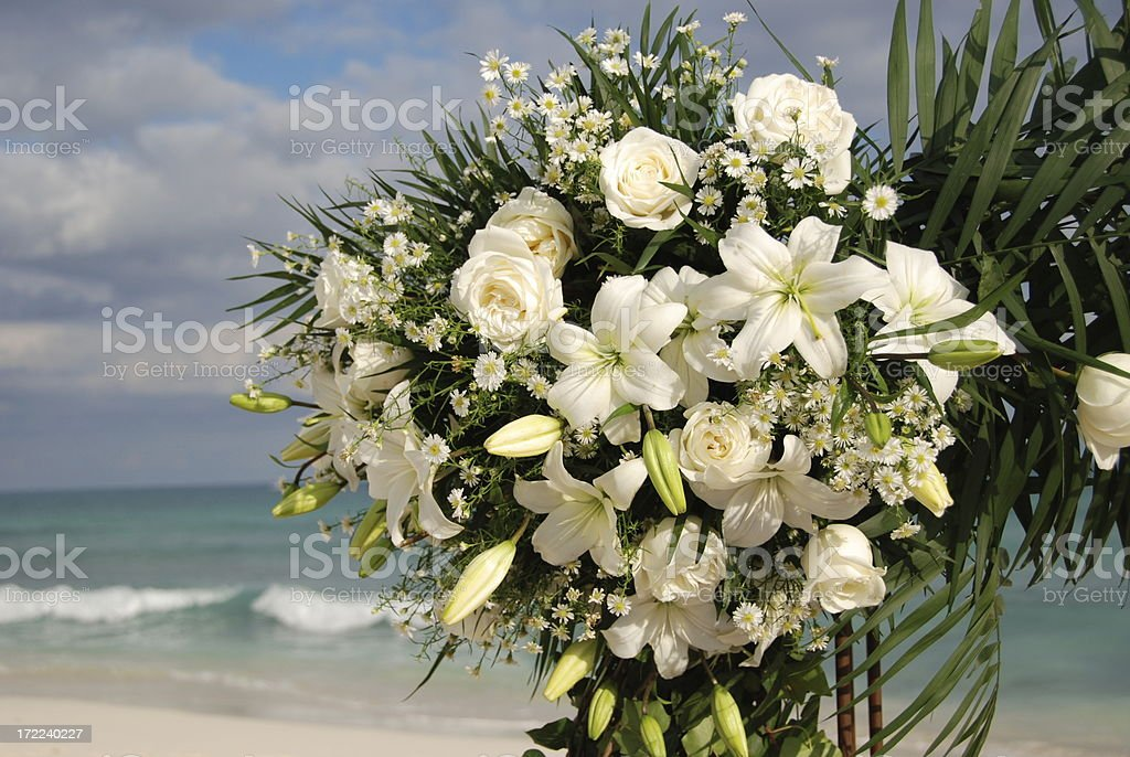 Bouquet at a Wedding royalty-free stock photo