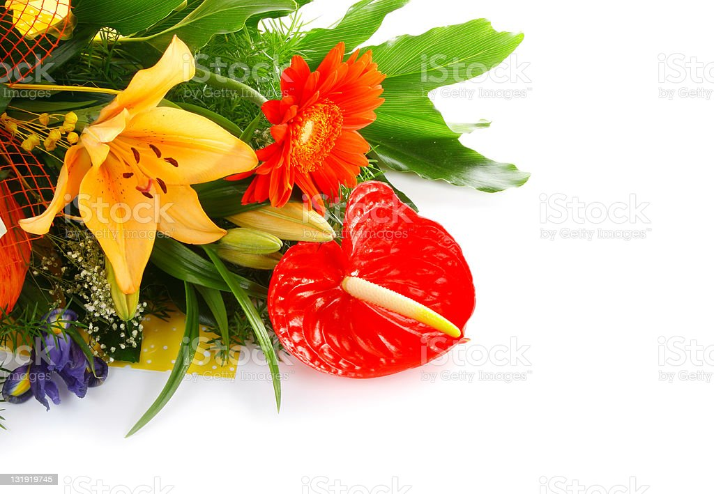 Bouquet background royalty-free stock photo