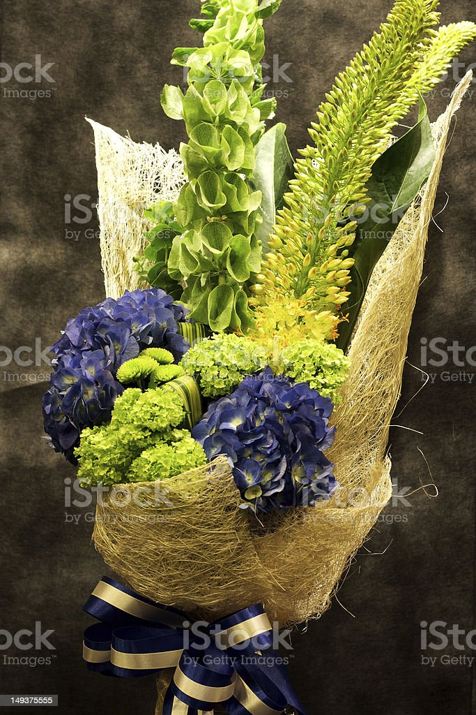 bouquet, colorful spring flowers royalty-free stock photo