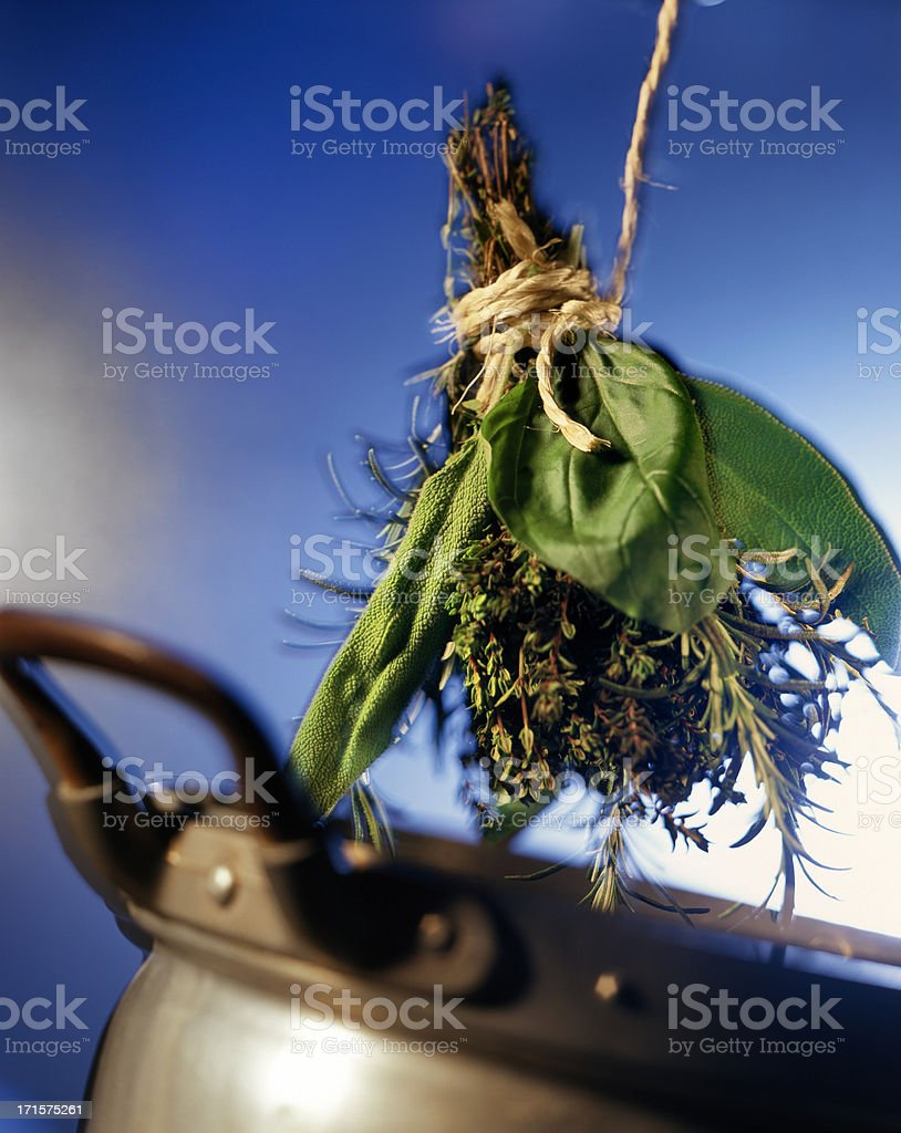 Bouquet garni royalty-free stock photo