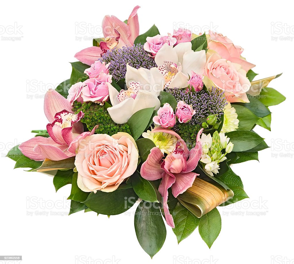 bouquet «Inspiration» royalty-free stock photo