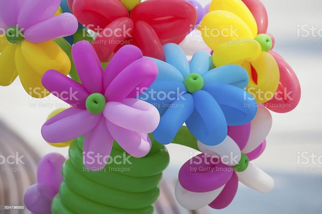 Bouquet of balloons. stock photo