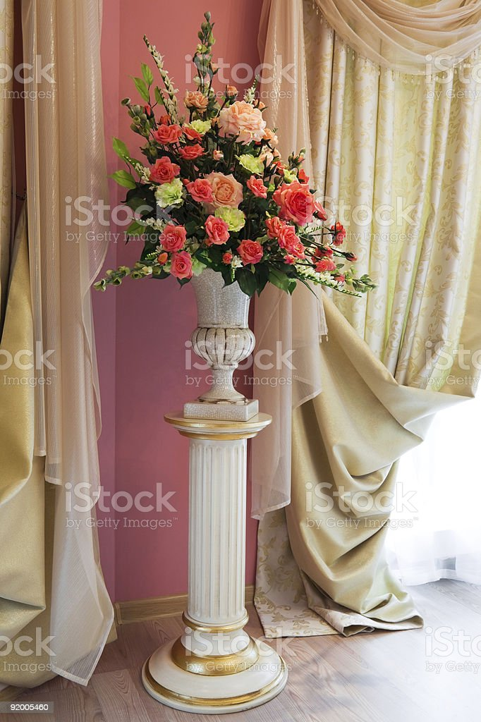 bouquet of beautiful flowers royalty-free stock photo