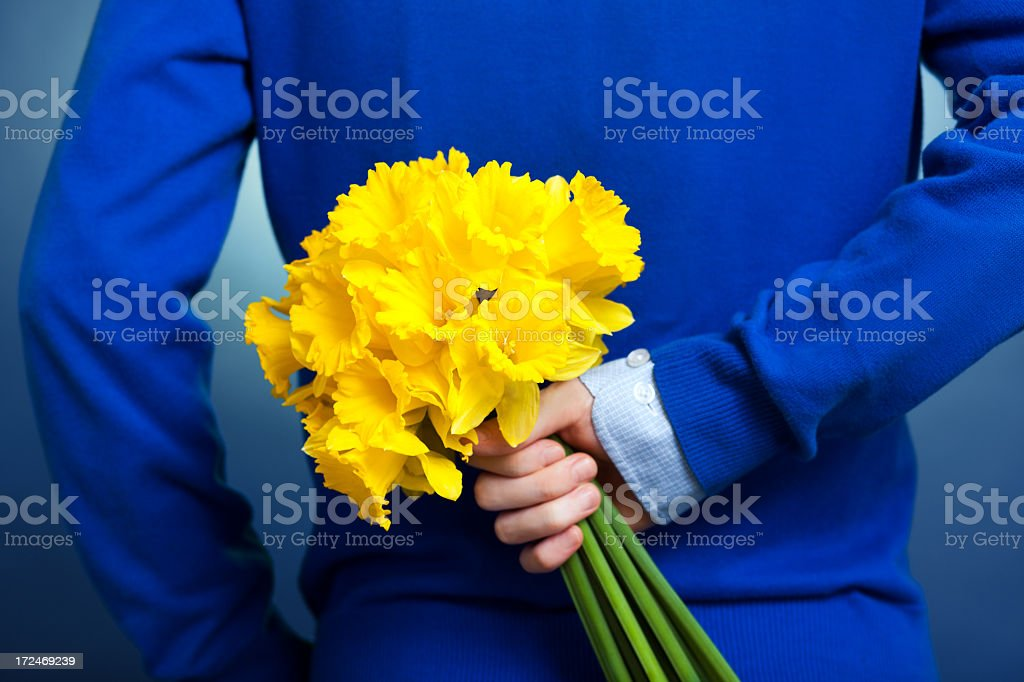 bouquet of flowers stock photo