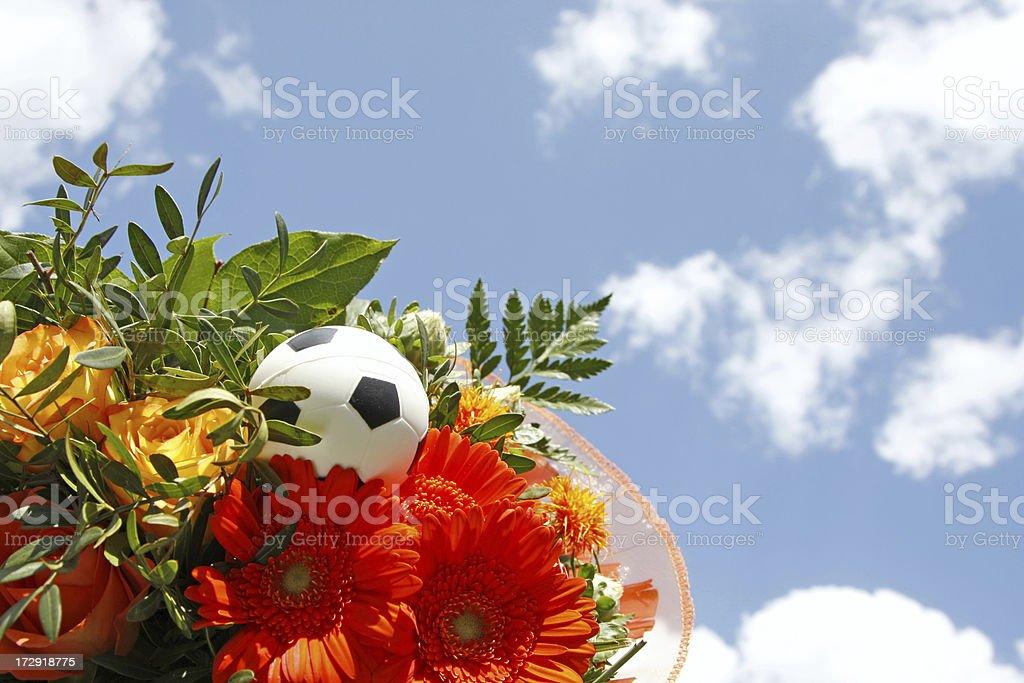 Bouquet of orange flowers # 2 XL stock photo