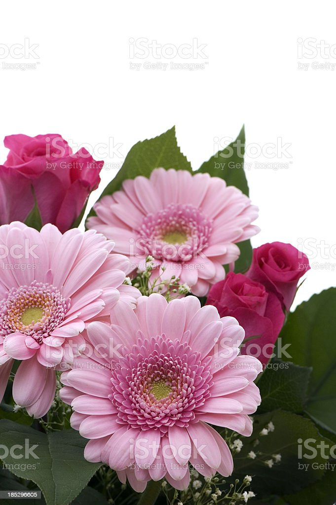 Bouquet of Pink Flowers royalty-free stock photo