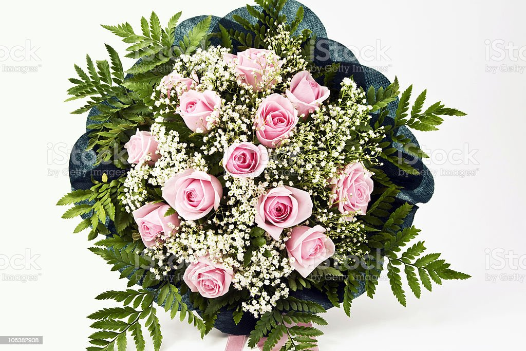 Bouquet of Rose. Color Image royalty-free stock photo