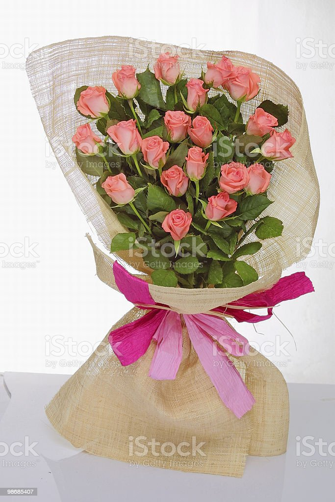 bouquet of roses royalty-free stock photo