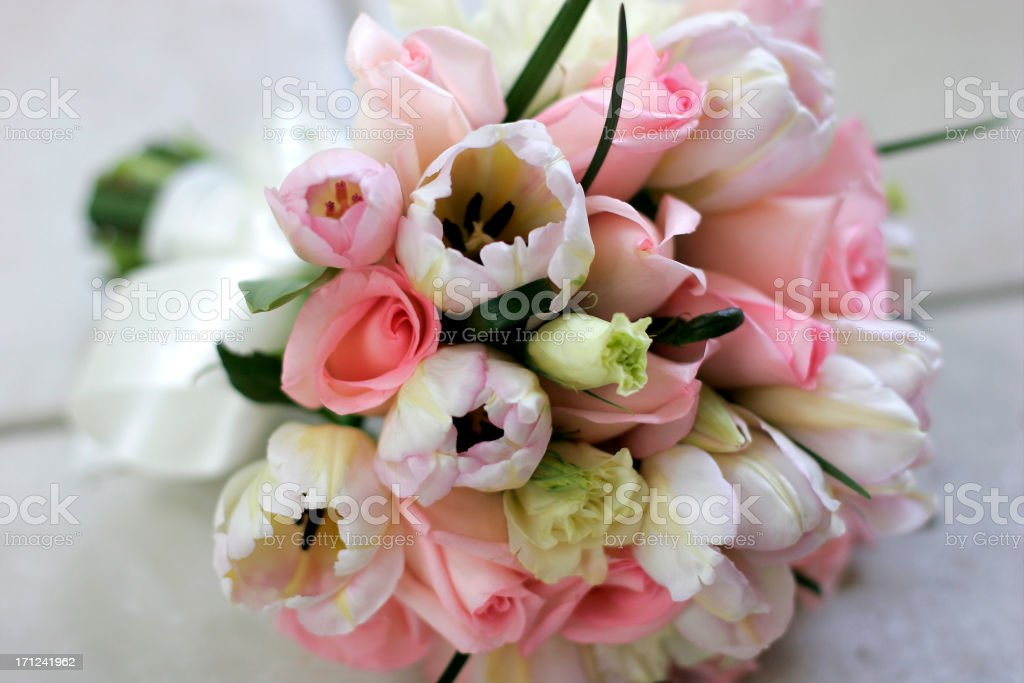 Bouquet Pastels royalty-free stock photo