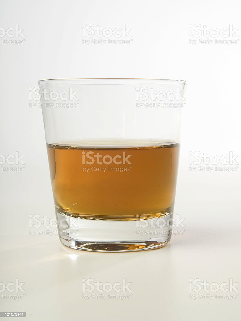 bourbon is neat! royalty-free stock photo