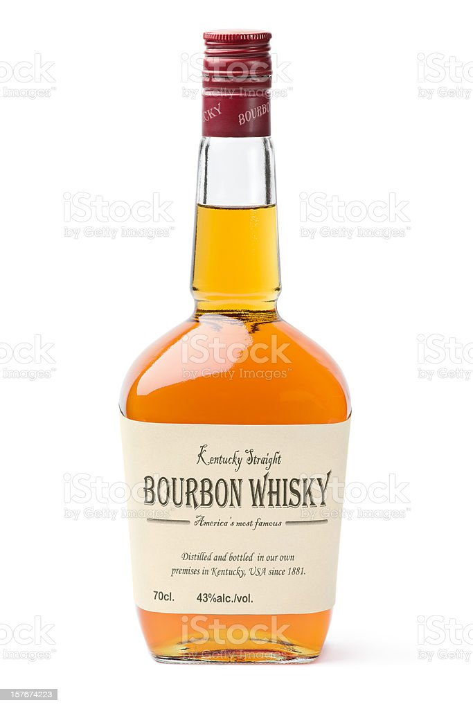 Bourbon Kentucky Whisky stock photo