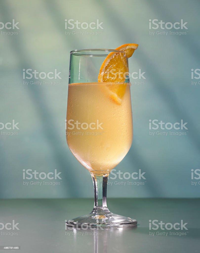 Bourbon Triple Sour Cocktail royalty-free stock photo