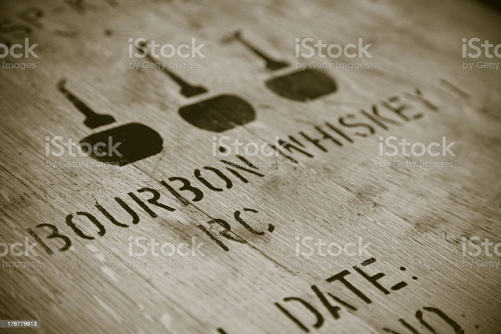 Bourbon whiskey stock photo