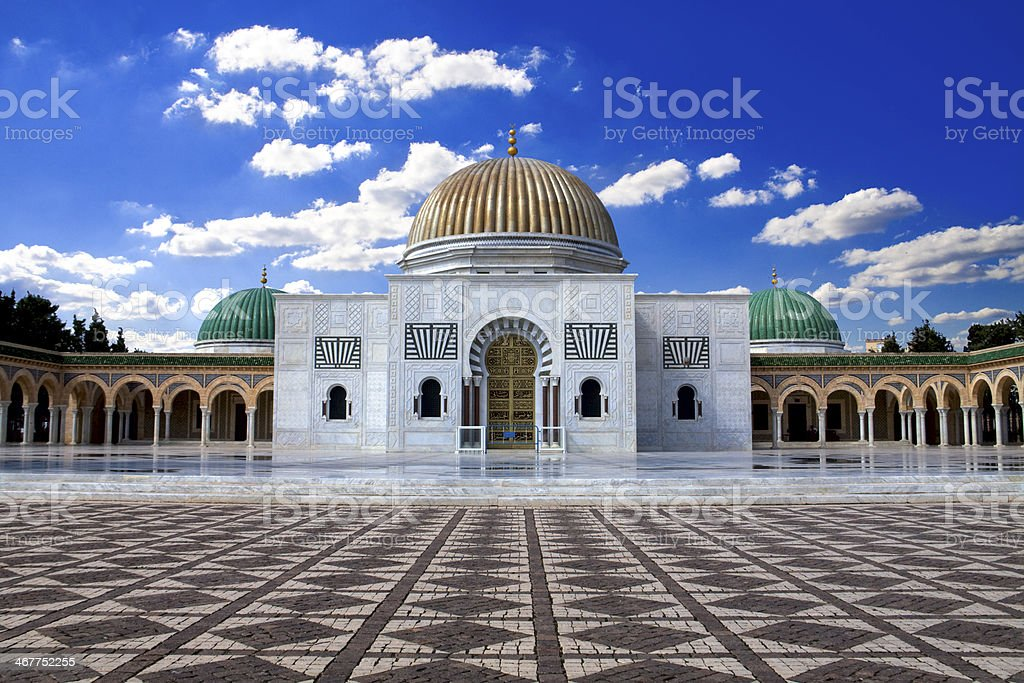 Bourguiba's Mausoleum stock photo