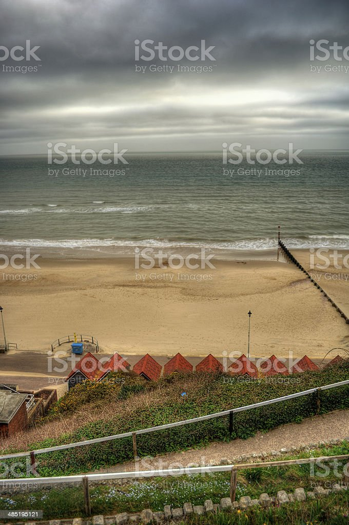 Bournemouth Beach HDR stock photo