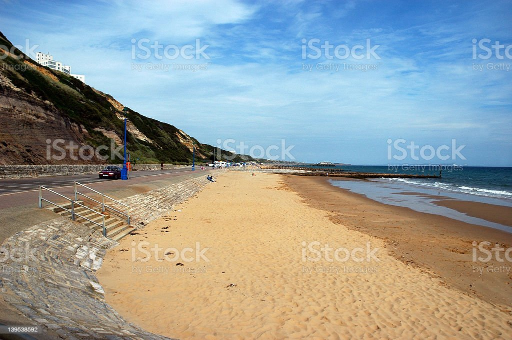 Bournemouth beach royalty-free stock photo