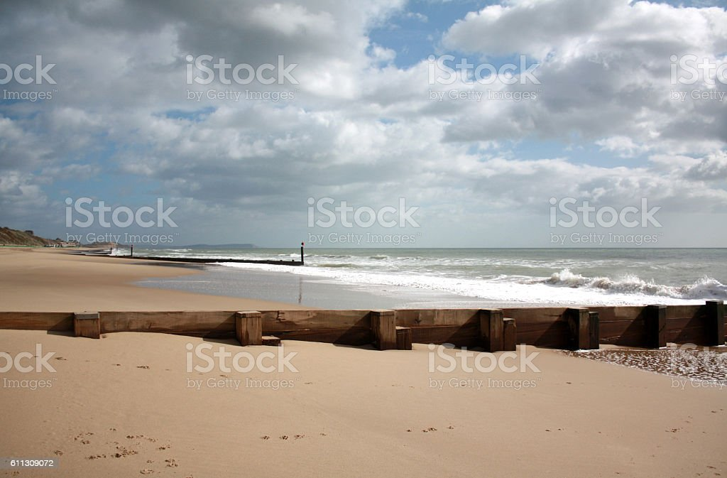 Bournemouth Beach stock photo