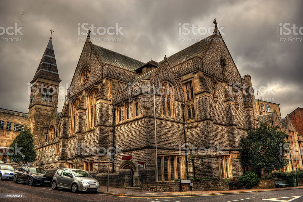 Bournemouth Church HDR stock photo