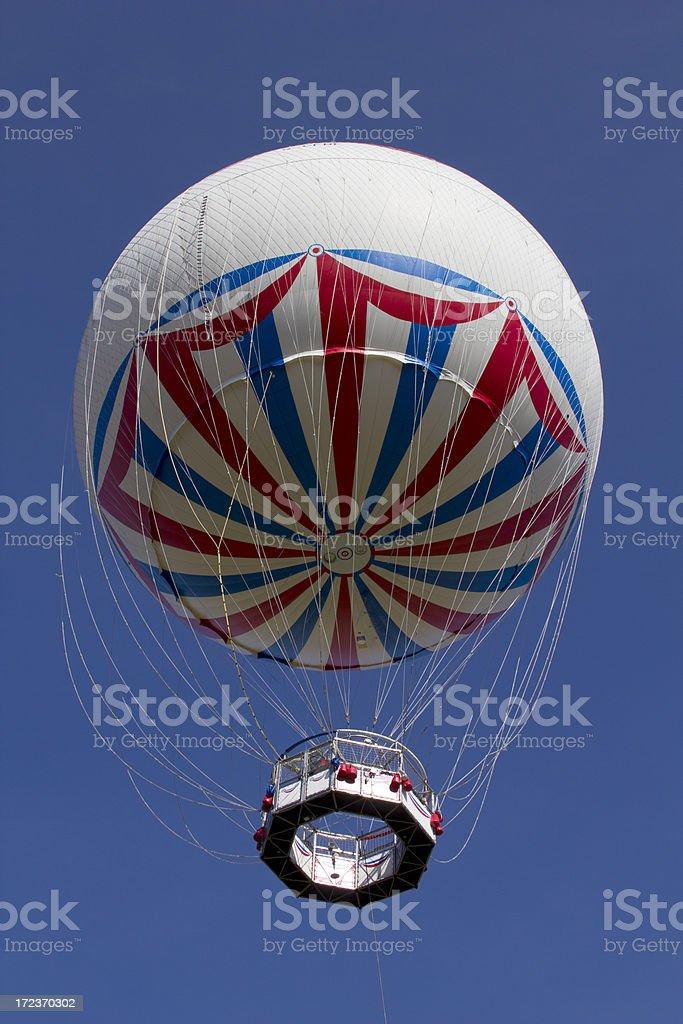 Bournemouth Panoramic Views Balloon royalty-free stock photo
