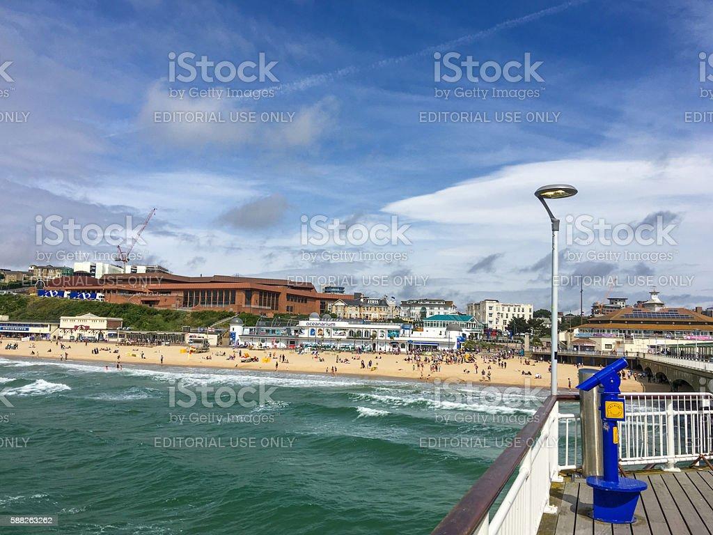 Bournemouth stock photo