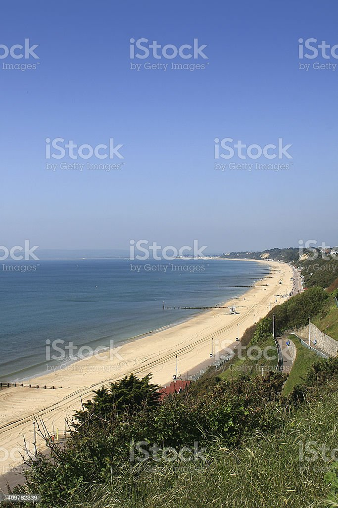 Bournemouth West Cliff stock photo